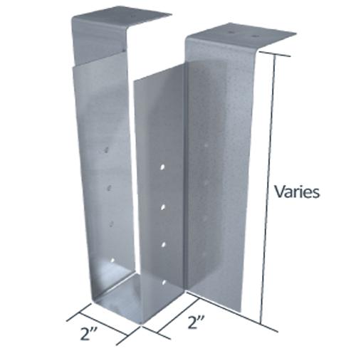 StiffClip® JH Floor Joist to Beam Connector Light Gauge Steel: Drywall Trims